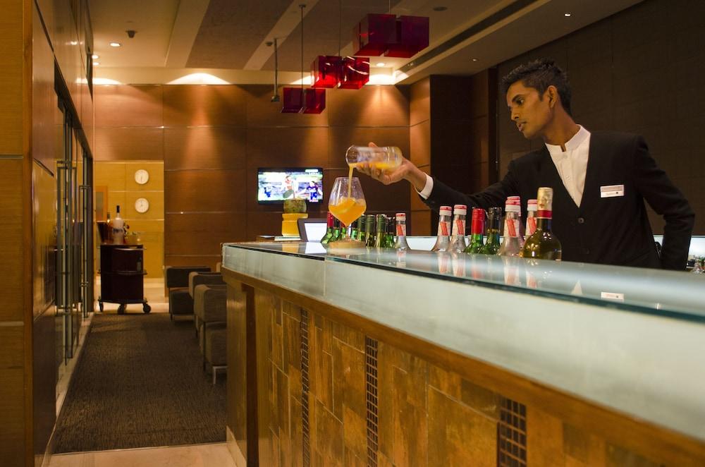 래디슨 블루 호텔 그레이터 노이다(Radisson Blu Hotel Greater Noida) Hotel Image 97 - Hotel Bar