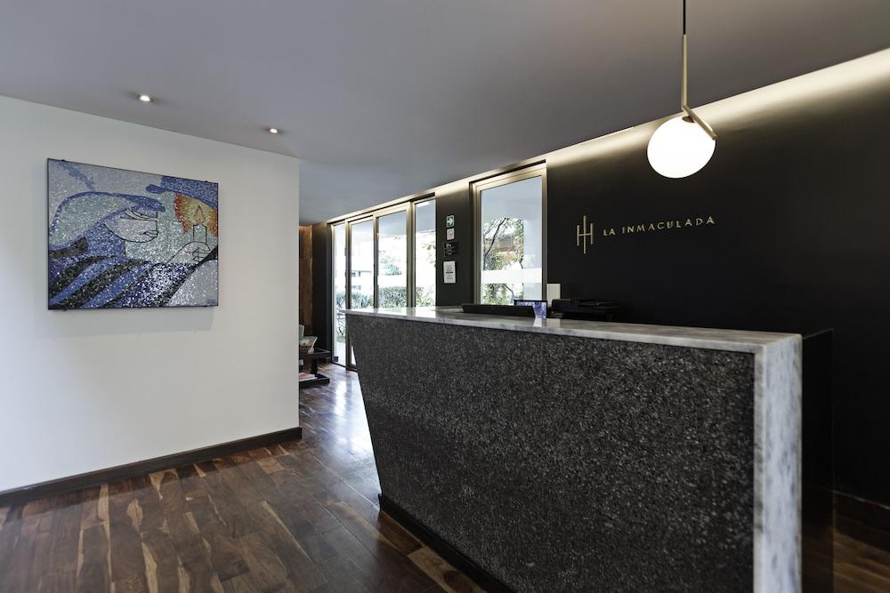 라 인마쿨라다(La Inmaculada) Hotel Image 3 - Reception