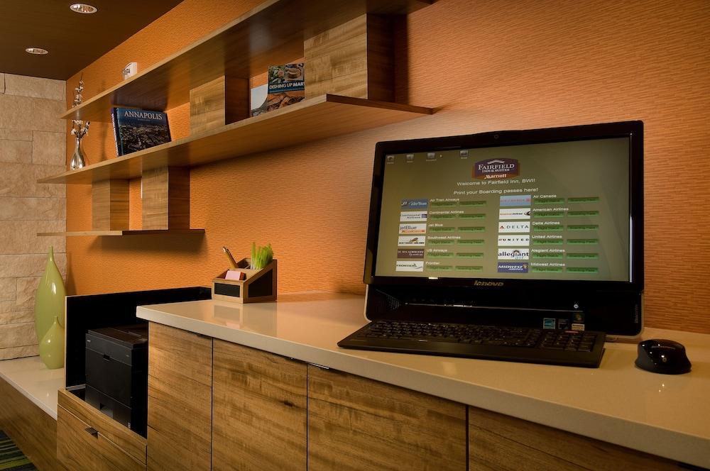 페어필드 인 & 스위트 볼티모어 BWI 에어포트(Fairfield Inn & Suites Baltimore BWI Airport) Hotel Image 6 - Check-in/Check-out Kiosk