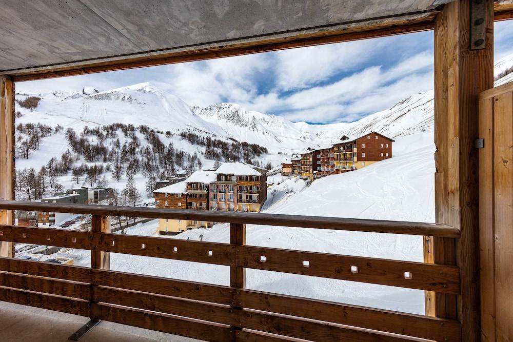 레지던스 레 시메 뒤 발 달로(Résidence Les Cimes du Val d'Allos) Hotel Image 48 - Balcony View