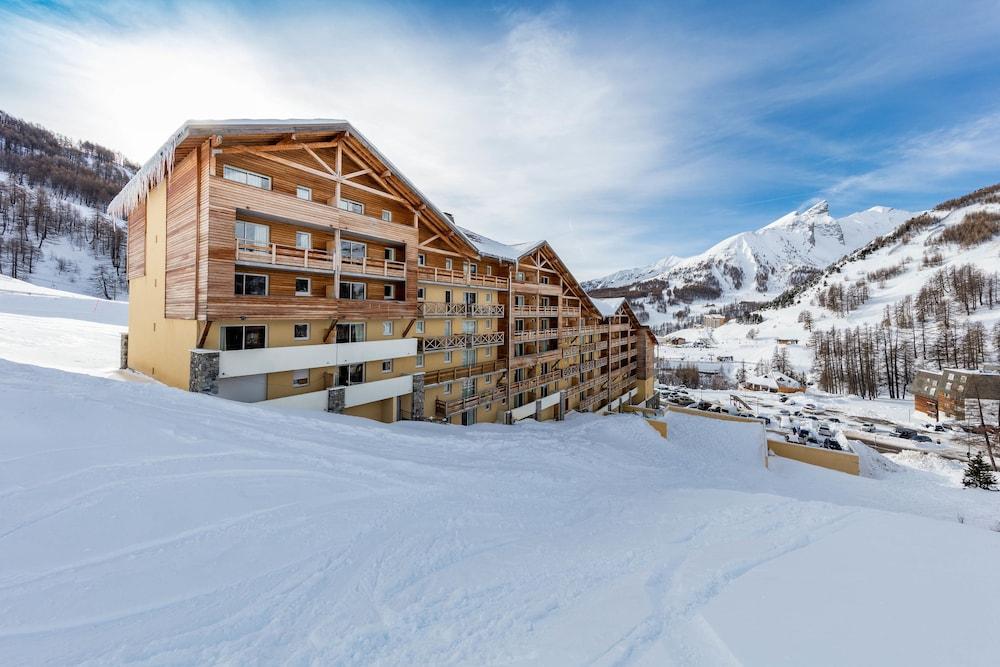 레지던스 레 시메 뒤 발 달로(Résidence Les Cimes du Val d'Allos) Hotel Image 36 - Hotel Front