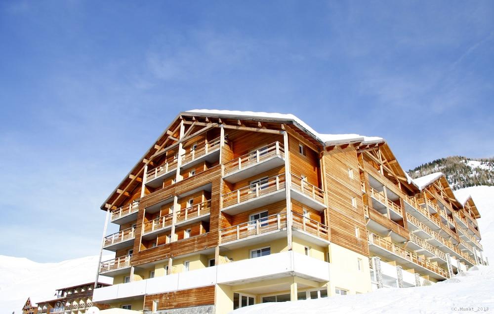 레지던스 레 시메 뒤 발 달로(Résidence Les Cimes du Val d'Allos) Hotel Image 33 - Hotel Front