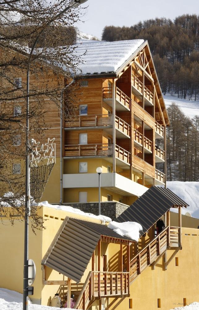 레지던스 레 시메 뒤 발 달로(Résidence Les Cimes du Val d'Allos) Hotel Image 37 - Exterior