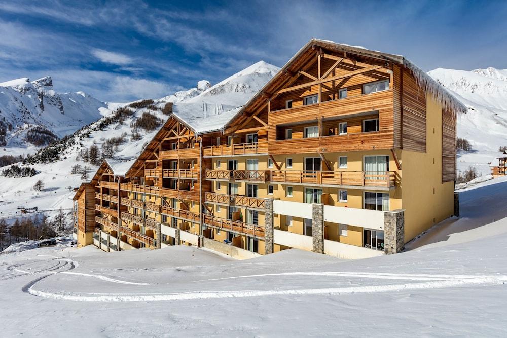 레지던스 레 시메 뒤 발 달로(Résidence Les Cimes du Val d'Allos) Hotel Image 35 - Hotel Front