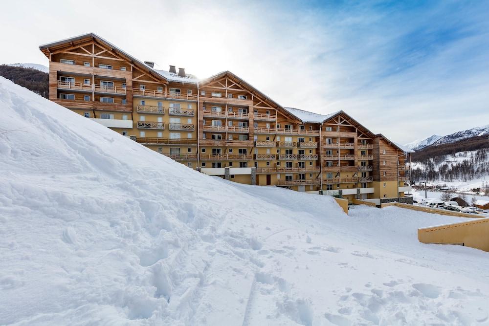 레지던스 레 시메 뒤 발 달로(Résidence Les Cimes du Val d'Allos) Hotel Image 44 - Exterior
