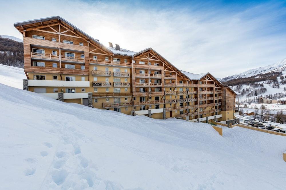 레지던스 레 시메 뒤 발 달로(Résidence Les Cimes du Val d'Allos) Hotel Image 42 - Exterior