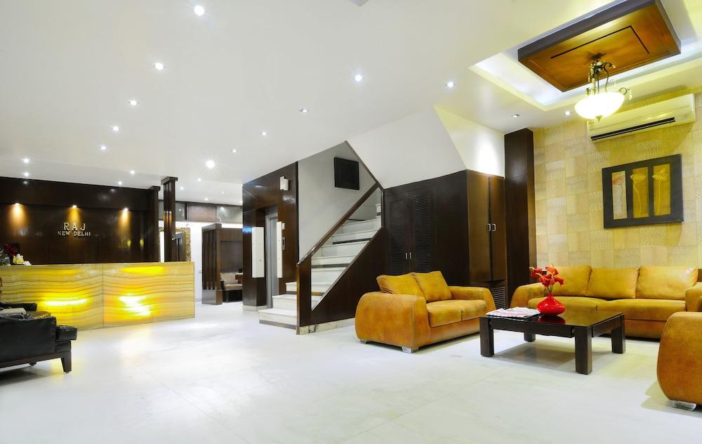 호텔 더 라즈, 뉴 델리(Hotel The Raj, New Delhi) Hotel Image 5 - Reception