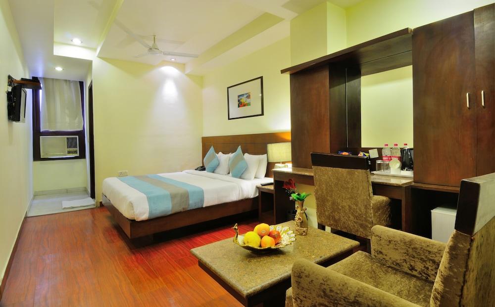 호텔 더 라즈, 뉴 델리(Hotel The Raj, New Delhi) Hotel Image 9 - Guestroom