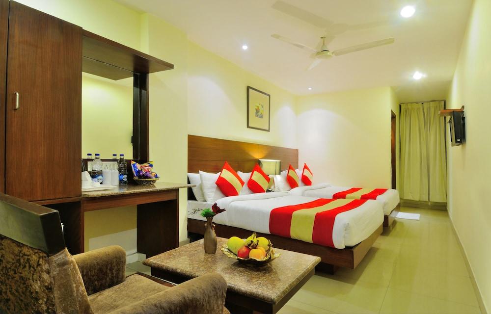 호텔 더 라즈, 뉴 델리(Hotel The Raj, New Delhi) Hotel Image 12 - Guestroom