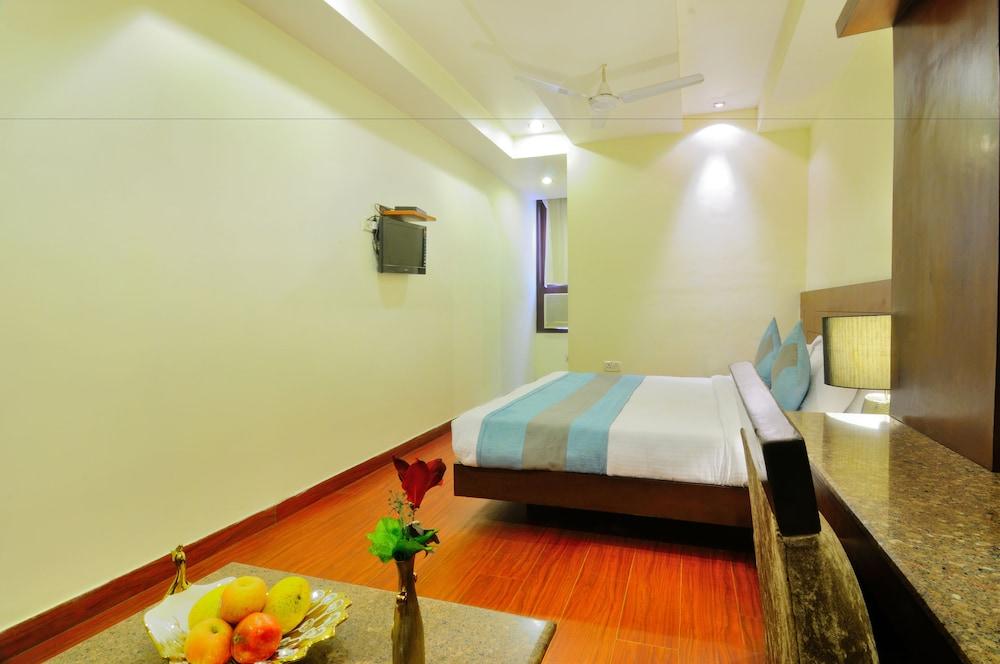 호텔 더 라즈, 뉴 델리(Hotel The Raj, New Delhi) Hotel Image 13 - Guestroom