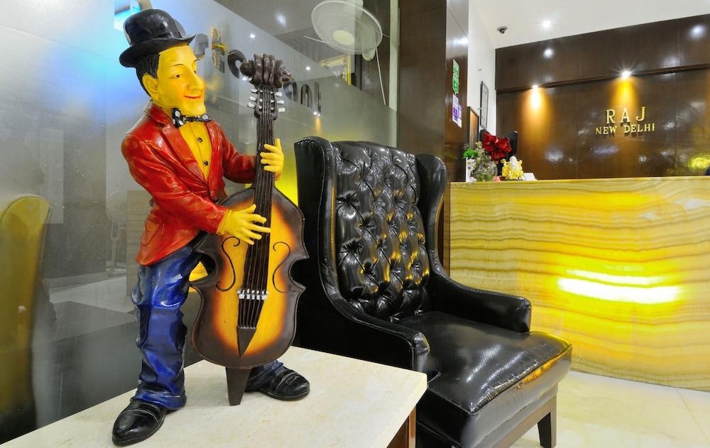 호텔 더 라즈, 뉴 델리(Hotel The Raj, New Delhi) Hotel Image 6 - Reception