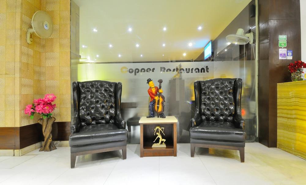 호텔 더 라즈, 뉴 델리(Hotel The Raj, New Delhi) Hotel Image 3 - Lobby Sitting Area