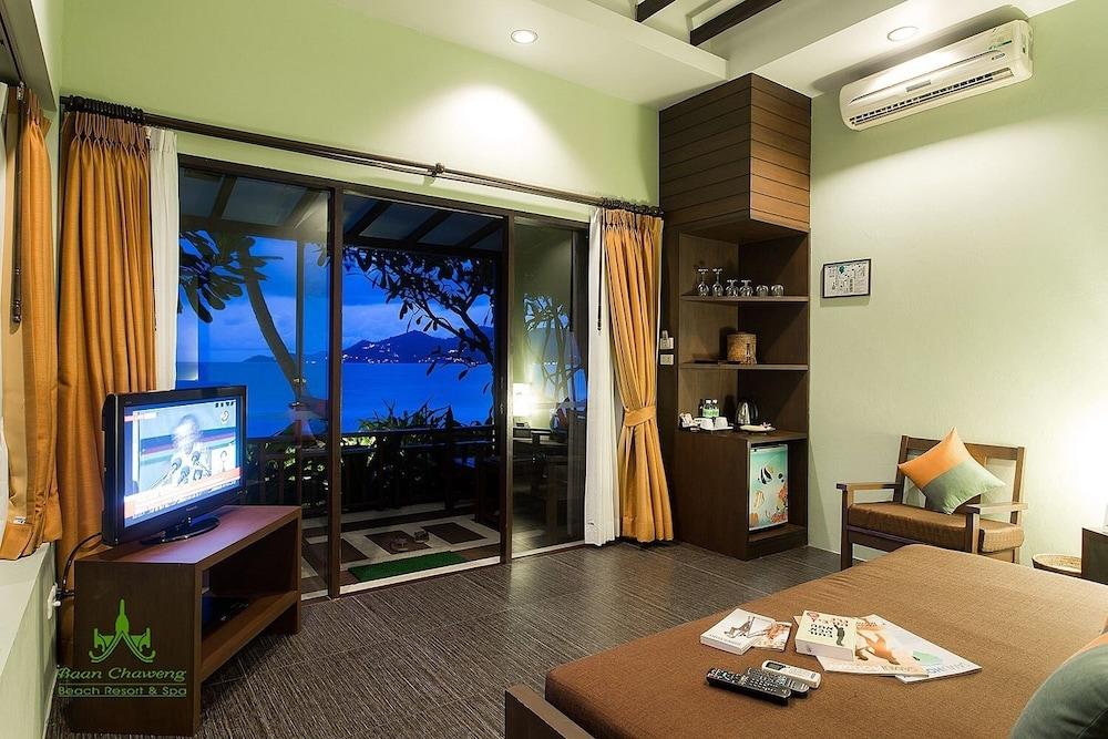 반 차웽 비치 리조트 & 스파(Baan Chaweng Beach Resort & Spa) Hotel Image 29 - Living Area