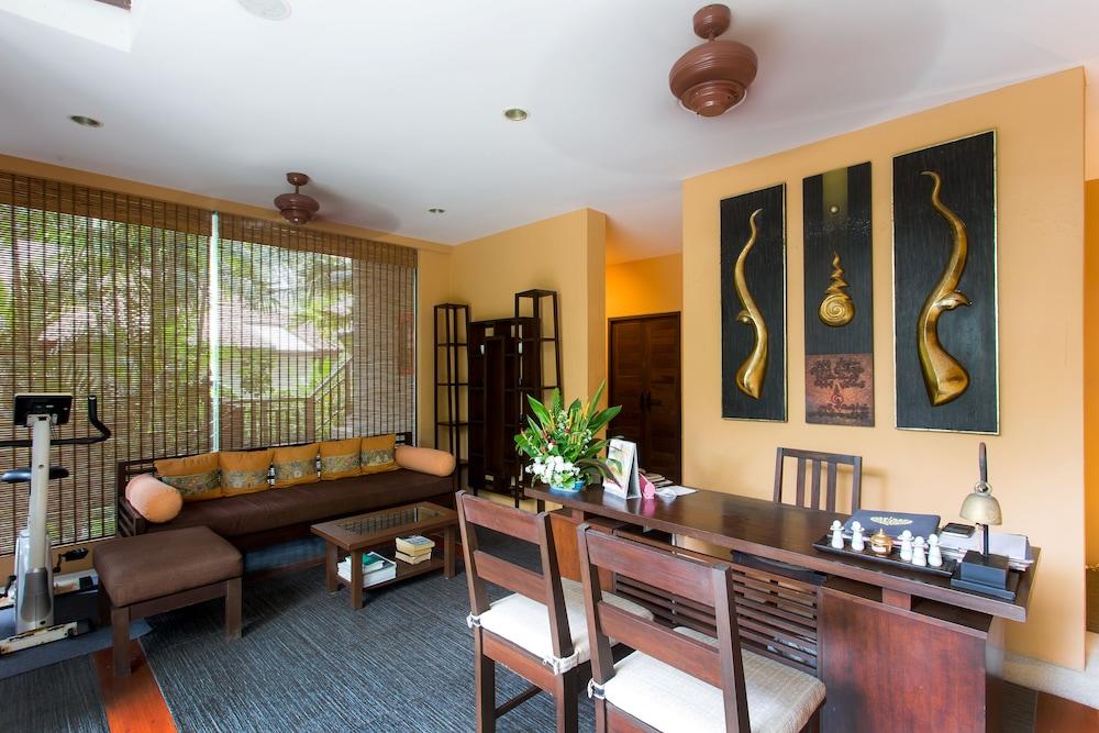반 차웽 비치 리조트 & 스파(Baan Chaweng Beach Resort & Spa) Hotel Image 52 - Spa Reception
