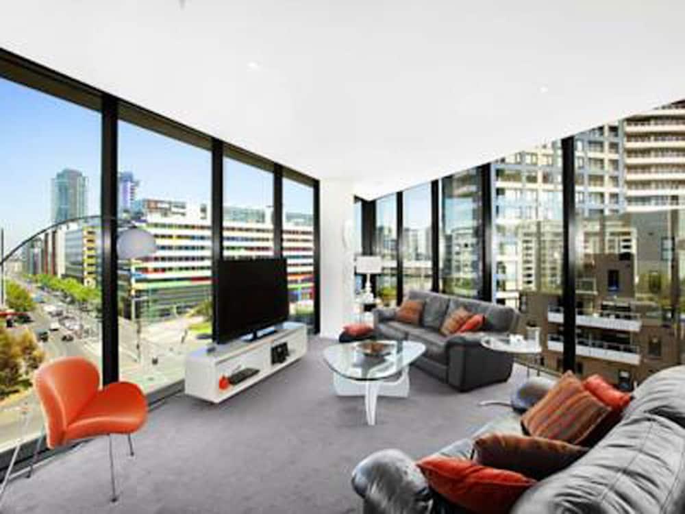 도크랜즈 이그제큐티브 아파트먼츠(Docklands Executive Apartments) Hotel Image 44 - Living Room