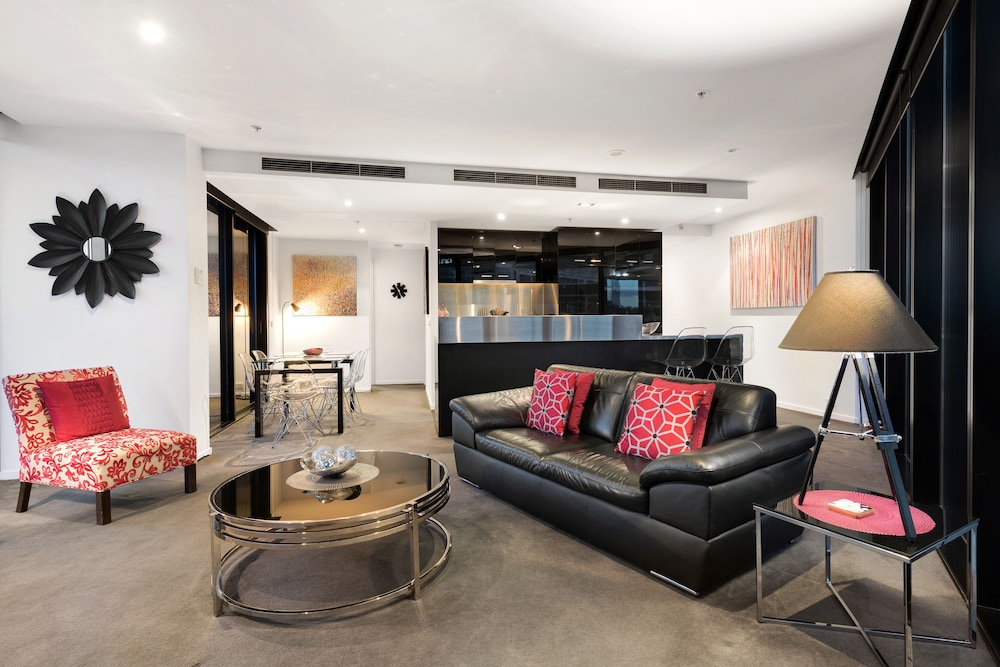 도크랜즈 이그제큐티브 아파트먼츠(Docklands Executive Apartments) Hotel Image 47 - Living Room