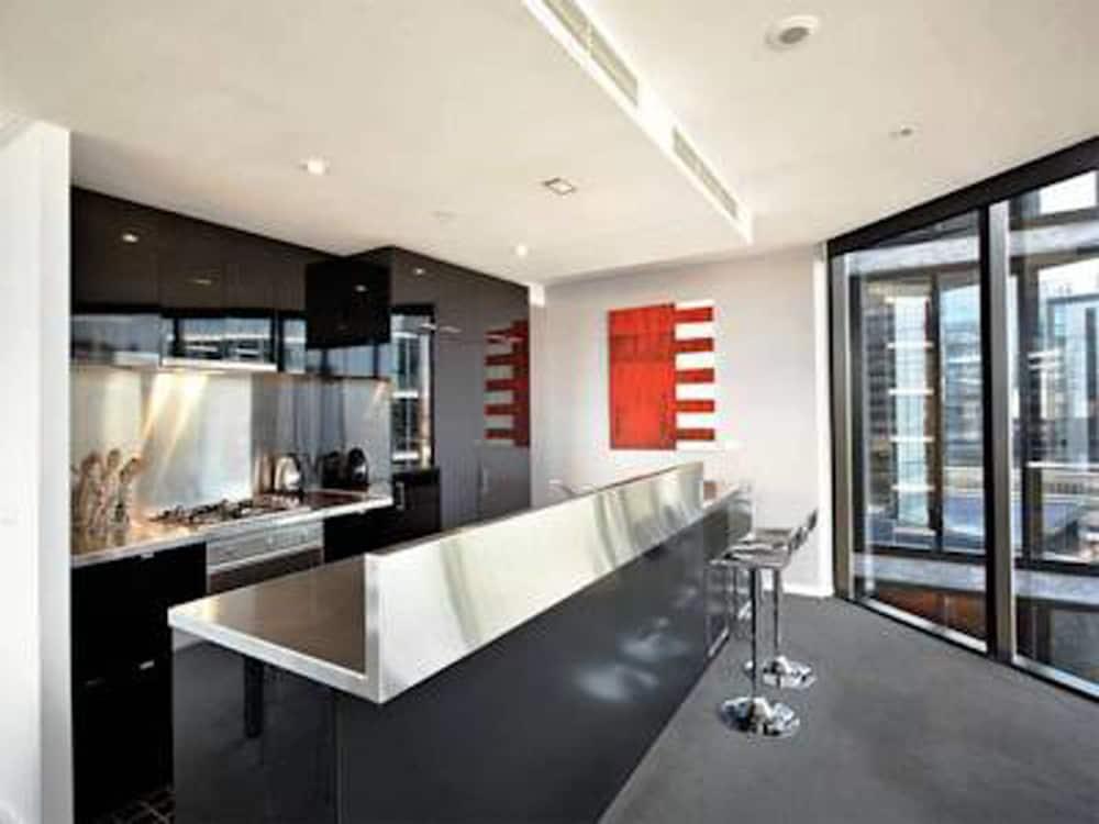 도크랜즈 이그제큐티브 아파트먼츠(Docklands Executive Apartments) Hotel Image 22 - In-Room Kitchen