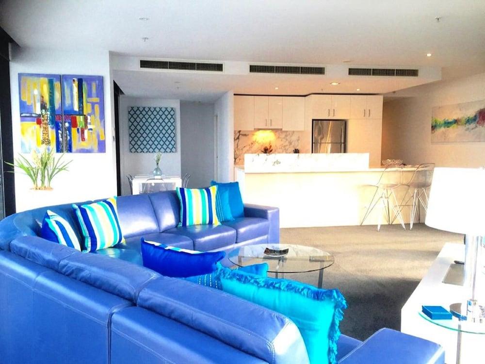 도크랜즈 이그제큐티브 아파트먼츠(Docklands Executive Apartments) Hotel Image 46 - Living Room