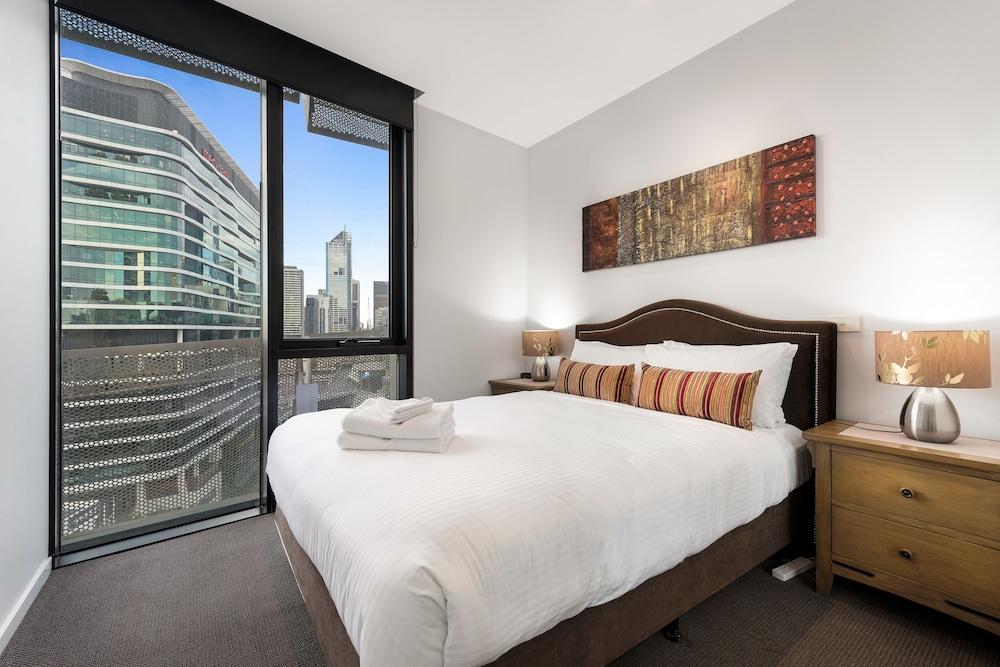 도크랜즈 이그제큐티브 아파트먼츠(Docklands Executive Apartments) Hotel Image 8 - Guestroom