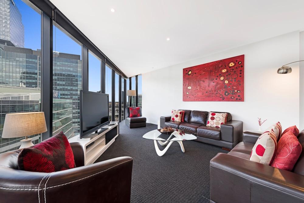 도크랜즈 이그제큐티브 아파트먼츠(Docklands Executive Apartments) Hotel Image 41 - Living Area