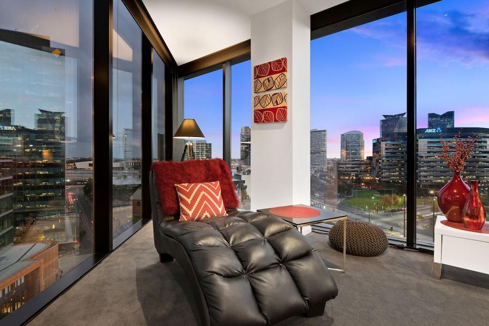 도크랜즈 이그제큐티브 아파트먼츠(Docklands Executive Apartments) Hotel Image 48 - Living Room