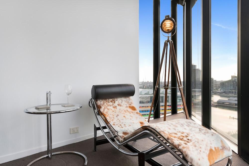 도크랜즈 이그제큐티브 아파트먼츠(Docklands Executive Apartments) Hotel Image 49 - Living Room