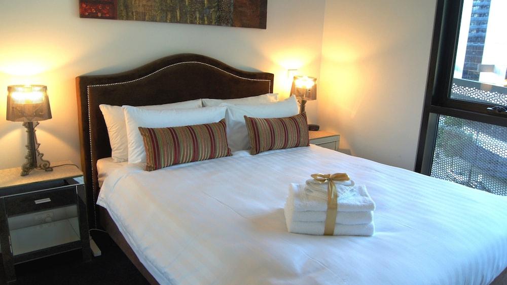 도크랜즈 이그제큐티브 아파트먼츠(Docklands Executive Apartments) Hotel Image 5 - Guestroom