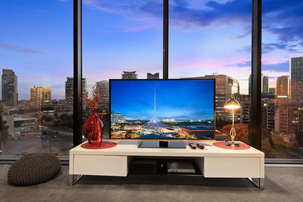 도크랜즈 이그제큐티브 아파트먼츠(Docklands Executive Apartments) Hotel Image 54 - Guestroom View