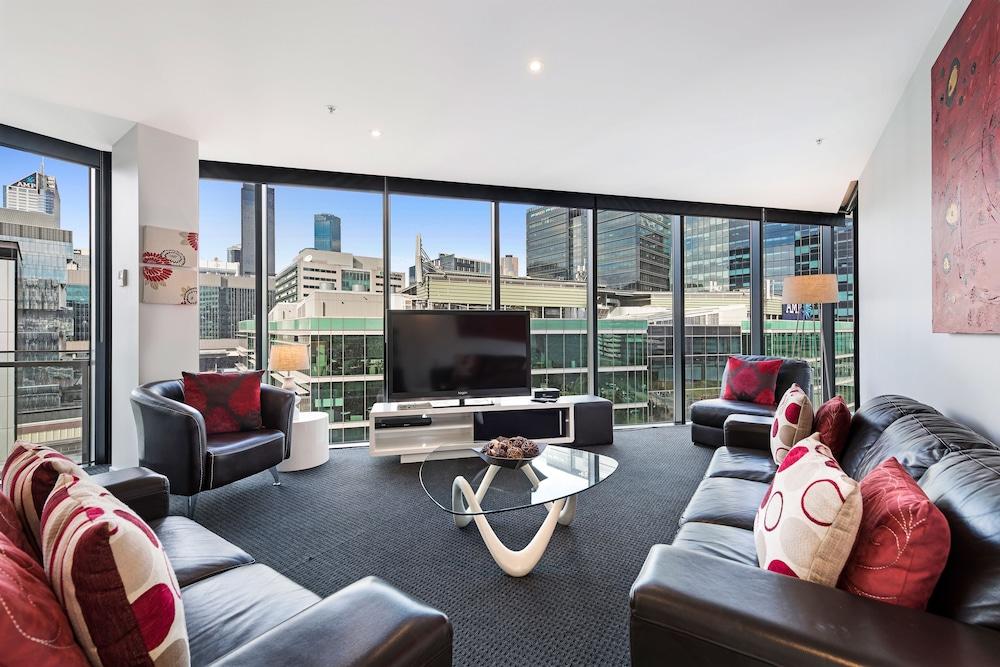 도크랜즈 이그제큐티브 아파트먼츠(Docklands Executive Apartments) Hotel Image 50 - Living Room