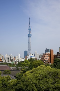 RESIDENTIAL HOTEL B:CONTE ASAKUSA View from Property
