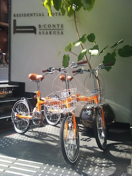 RESIDENTIAL HOTEL B:CONTE ASAKUSA Bicycling