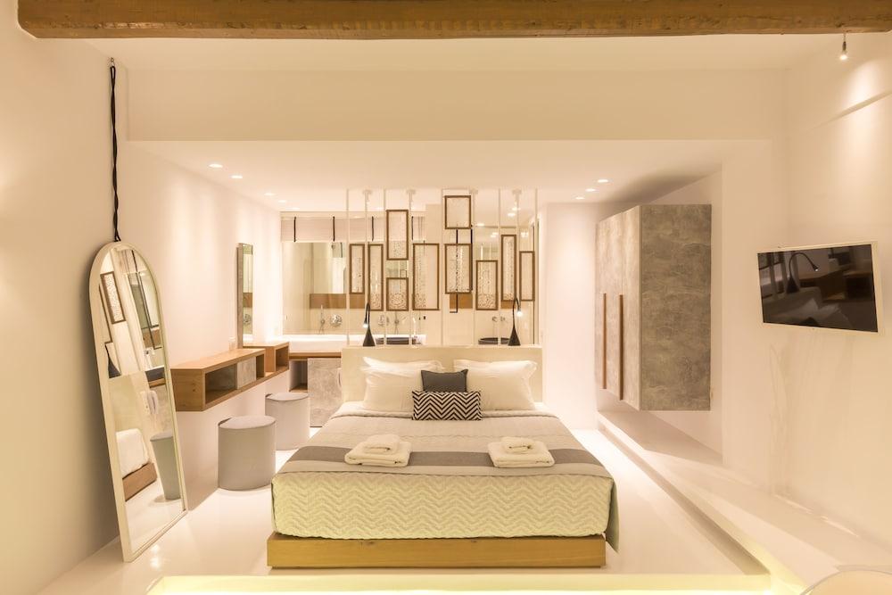 오이아 스위트(Oia Suites) Hotel Image 14 - Guestroom