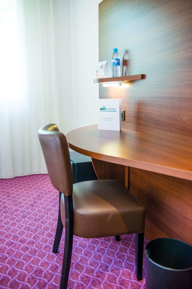 브릿 호텔 낭트 비그누 - 라틀란텔(Brit Hotel Nantes Vigneux - L'Atlantel) Hotel Image 13 - Guestroom