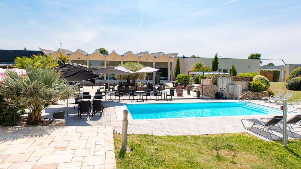 브릿 호텔 낭트 비그누 - 라틀란텔(Brit Hotel Nantes Vigneux - L'Atlantel) Hotel Image 68 - Terrace/Patio