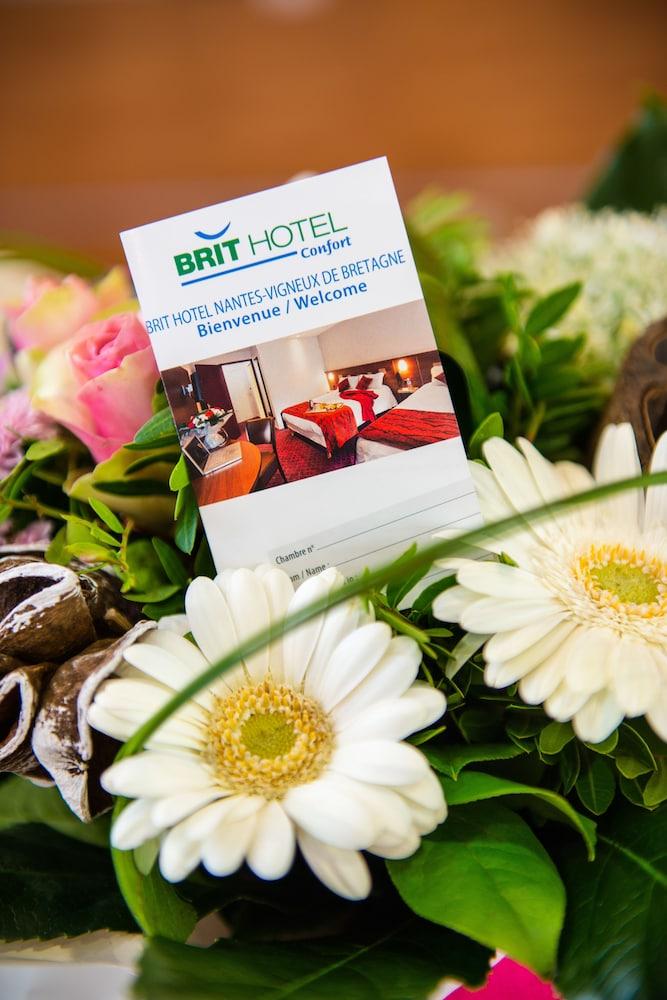 브릿 호텔 낭트 비그누 - 라틀란텔(Brit Hotel Nantes Vigneux - L'Atlantel) Hotel Image 39 - Reception