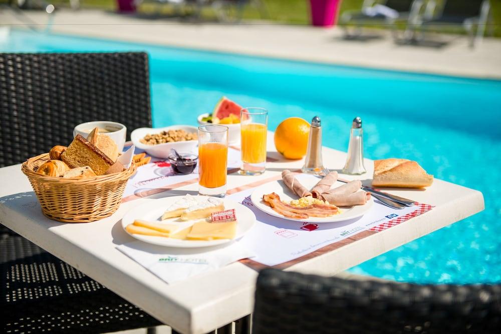 브릿 호텔 낭트 비그누 - 라틀란텔(Brit Hotel Nantes Vigneux - L'Atlantel) Hotel Image 48 - Breakfast Area