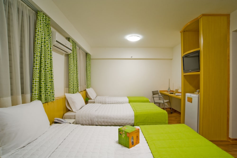 슬라비에로 슬림 콘곤하스(Slaviero Slim Congonhas) Hotel Image 12 - Guestroom