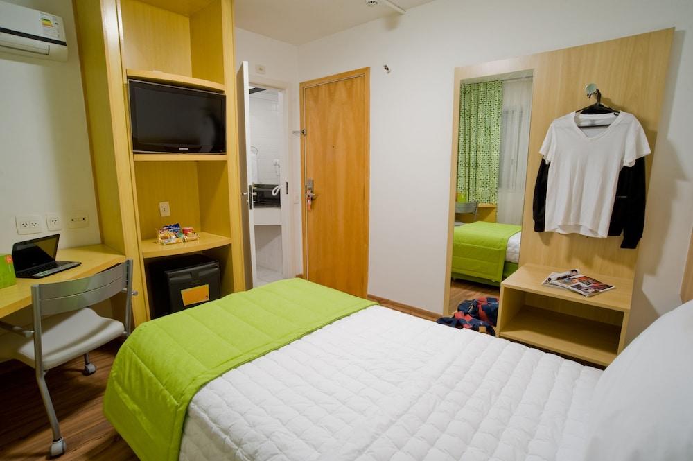 슬라비에로 슬림 콘곤하스(Slaviero Slim Congonhas) Hotel Image 9 - Guestroom