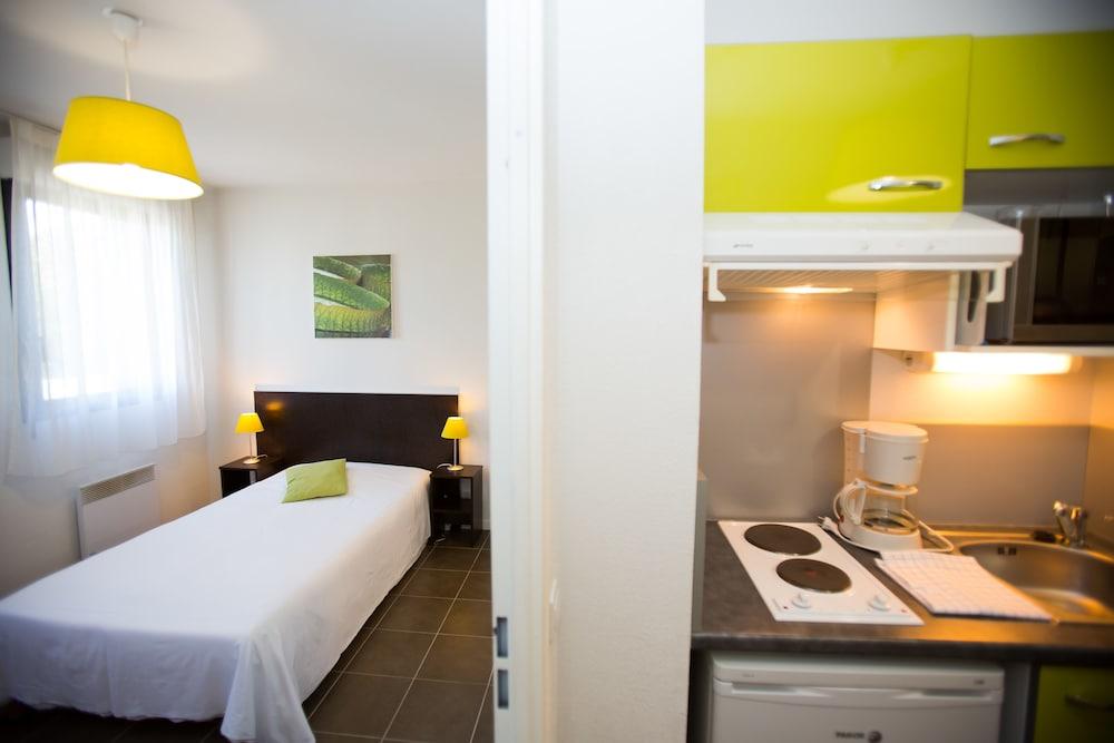 올 스위트 아파트 호텔 포(All Suites Appart Hotel Pau) Hotel Image 12 - In-Room Kitchen