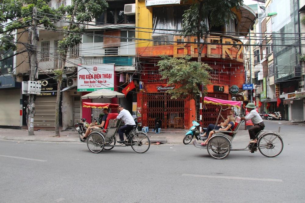 타이슨 그랜드 호텔(Parkson Hotel Hanoi) Hotel Image 84 - Porch