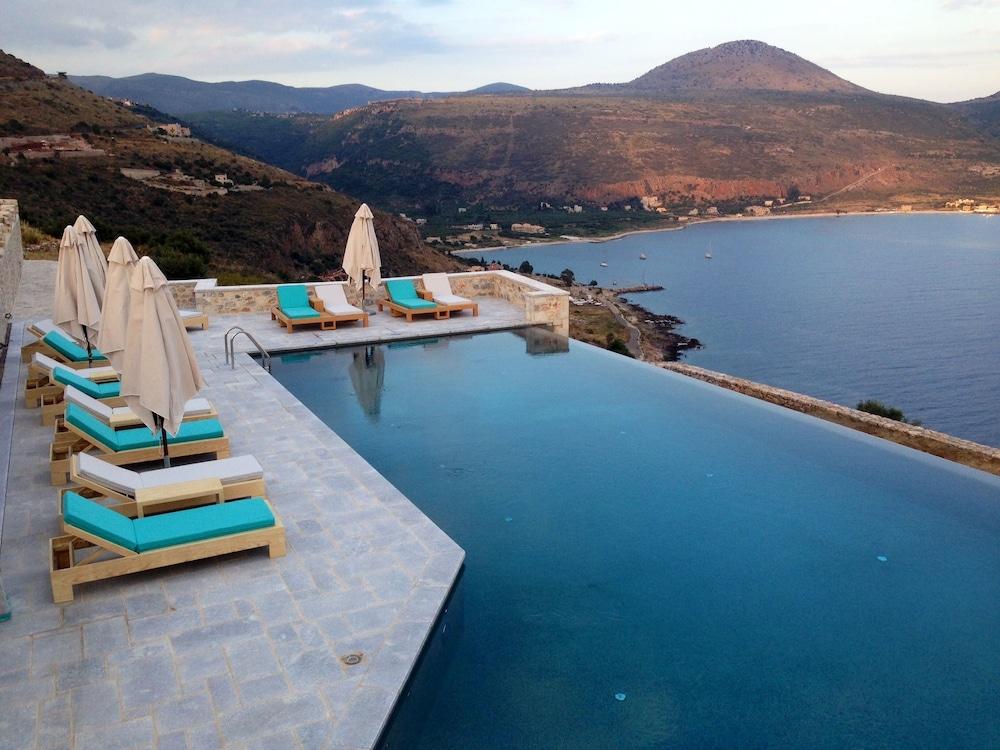 페트라 카이 포스 부티크 호텔 & 스파(Petra Kai Fos Boutique Hotel & Spa) Hotel Image 33 - Infinity Pool