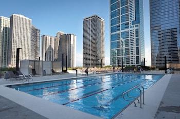 芝加哥水塔麗笙飯店 Radisson Blu Aqua Hotel Chicago