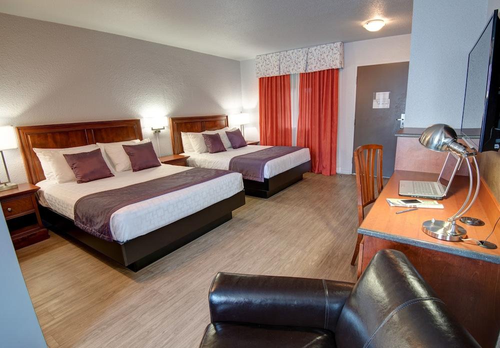 호텔 로젤리에 몽매그니(Hotel L'Oiseliere Montmagny) Hotel Image 6 - Guestroom