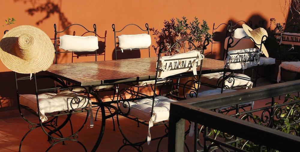 리아드 한나(Riad Hannah) Hotel Image 27 - 야외 레스토랑