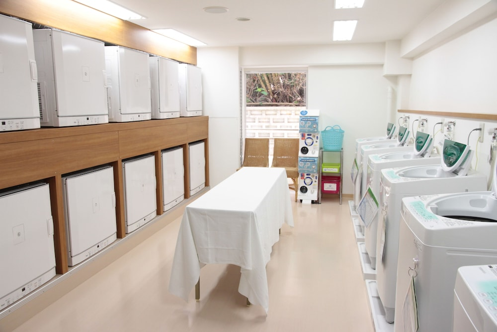 EM 웰니스 리조트 코스타비스타 오키나와 호텔 & 스파(EM Wellness Resort Costavista Okinawa Hotel & Spa) Hotel Image 33 - Laundry Room