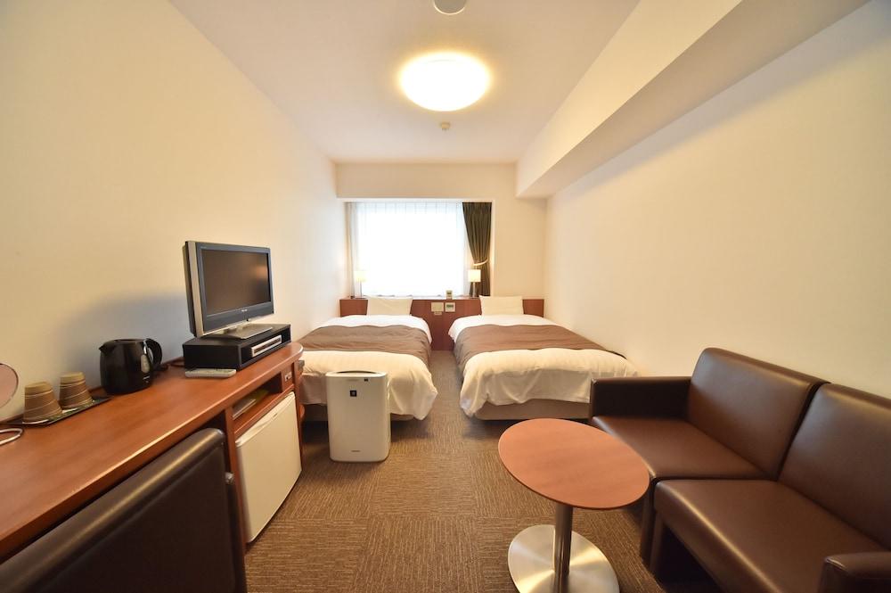 도미 인 와카나이 내추럴 핫 스프링(Dormy Inn Wakkanai Natural Hot Spring) Hotel Image 4 - Guestroom
