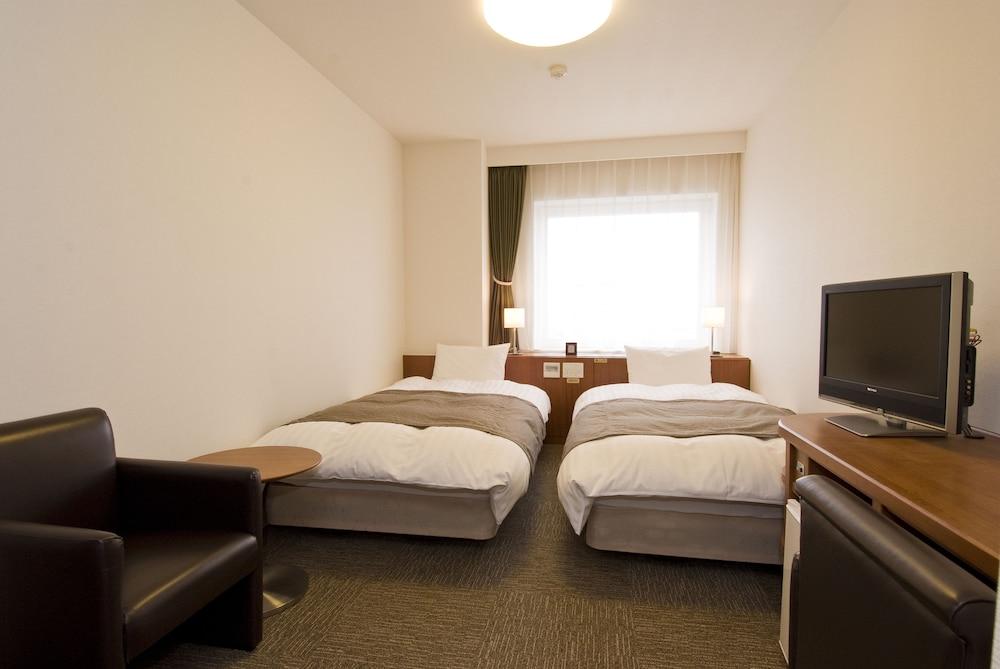 도미 인 와카나이 내추럴 핫 스프링(Dormy Inn Wakkanai Natural Hot Spring) Hotel Image 3 - Guestroom