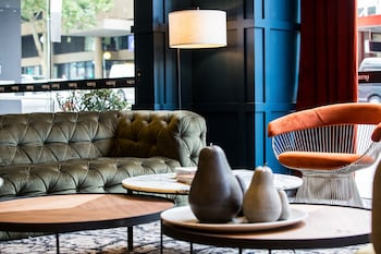 Lobby Sitting Area at Veriu Central in Sydney