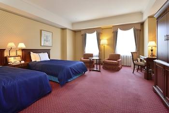 デラックス ツインルームダブルサイズベッド 2 台禁煙ハーバービュー|ウォーターマークホテル長崎・ハウステンボス