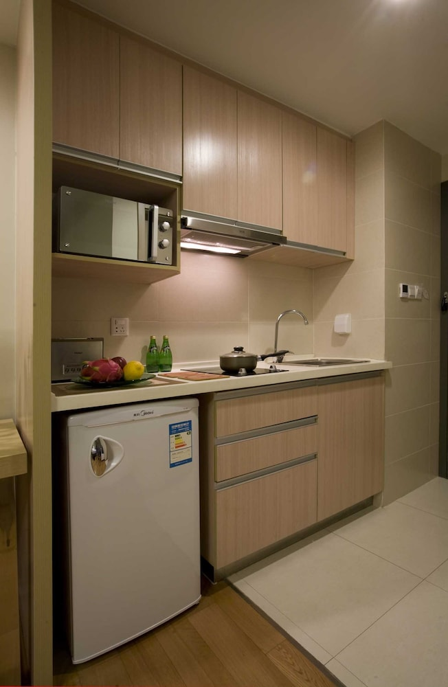 시타딘 싱칭 팰리스 시안(Citadines Xingqing Palace Xi'an) Hotel Image 8 - In-Room Kitchen